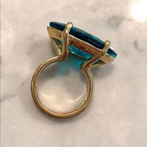 Kate Spade Teal Cocktail Ring